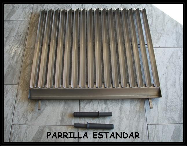 Chimeneas sierra parrilla de asado con recoge grasas - Parrilla para barbacoa ...